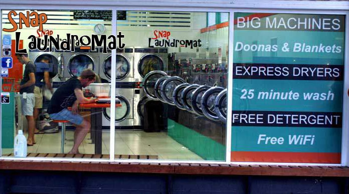 Snap Laundromat - Paddington
